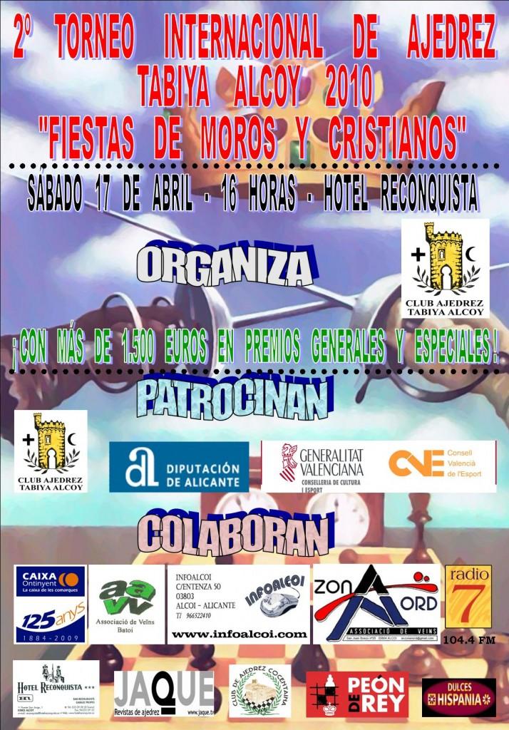Cartel Torneo Internacional Tabiya Alcoy 2010